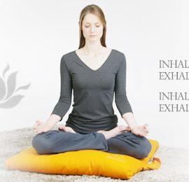 Ein Yoga Design für Geschenkgutscheine